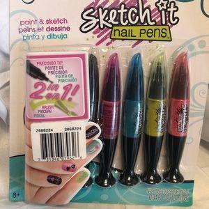 ALEX Spa Sketch It Nails Pen -New